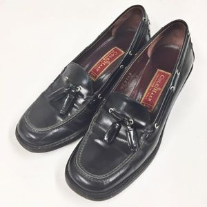 Vintage Cole Haan Tassel Loafers Leather Italy 5.5